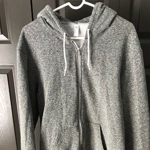 American Apparel full-zip jacket